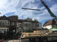 Loft steel installation