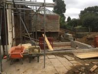 Rear extension started