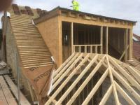 Dormer and pitched roof construction